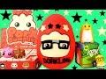 Pocket Pork Dumpling Play Doh Surprise Egg!! Kidrobot Labbit! Heathrow HedgeHog! Tear Drips!