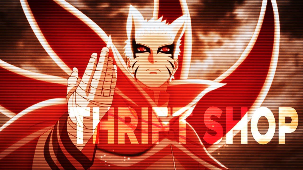 Naruto's Baryon Mode vs Isshiki FINAL FIGHT || Thrift Shop short edit