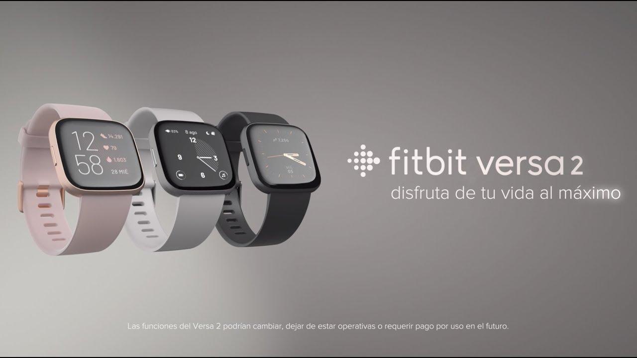 Fitbit Versa 2 NFC Exclusive Edition EsmeraldaRosa Cobre