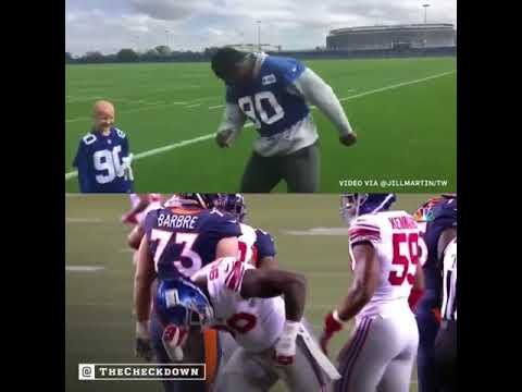 Jason Pierre-Paul Does Sack Dance On SNF That A Child Battling Cancer Taught Him
