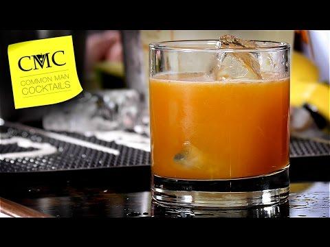Easy Rum Drink: Bamboo Screwdriver / Rum Drinks 🏖