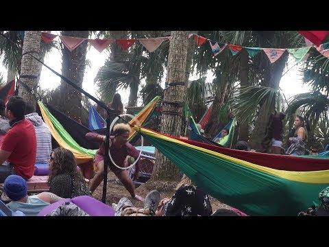HULA HOOP GIRLS Bring Life to JUNGLE 51 @ OKEECHOBEE MUSIC FEST