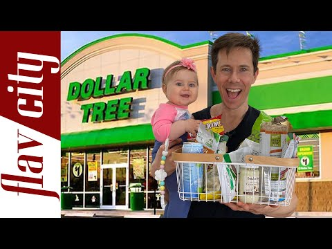 EPIC Dollar Tree Haul – Healthy Food At Extreme Budget Prices!