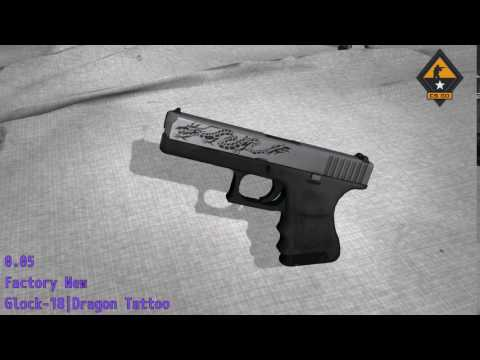 Glock 18 Dragon Tattoo Csgo Stash