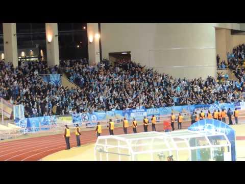 Zenit fans in Monaco (FC Zenit Ultras) //. Зенит болельщики в Монако (Зенит ультрас) -  09.12.2014
