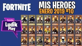 #10 MY HEROES JANUARY (CASCASINS, KYLE RUDOLF, ARMÍGERO ) FORTNITE SAVE THE WORLD SPANISH GUIDE
