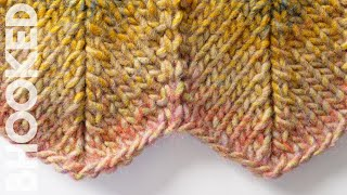 How to Knit Chevron Pattern