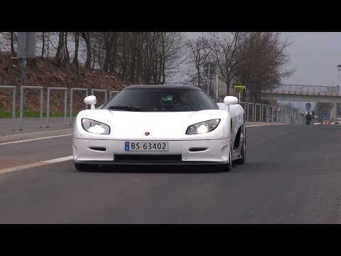 Koenigsegg CCR – BRUTAL SOUND!