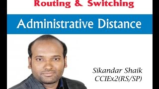 Administrative Distance - Video By Sikandar Shaik || Dual CCIE (RS/SP) # 35012