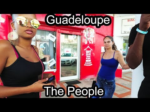 Guadeloupe - French Caribbean Island - The People - 2017