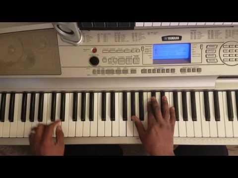 """Jill Scott """"The Way"""" Easy Piano Tutorial"""
