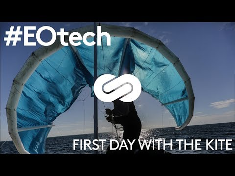 #EOtech - Energy Observer tests its kite for the first time