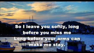 Johnny Rivers ( Softly As I Leave You ) - 1968 - HQ - subtitles in English