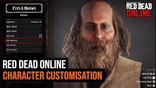 Red Dead Online - Character Customization Gameplay