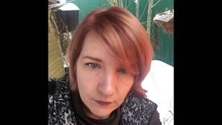 из пепельного в рыжий\\окрашивание волос \\как сделать дома рыжий цвет