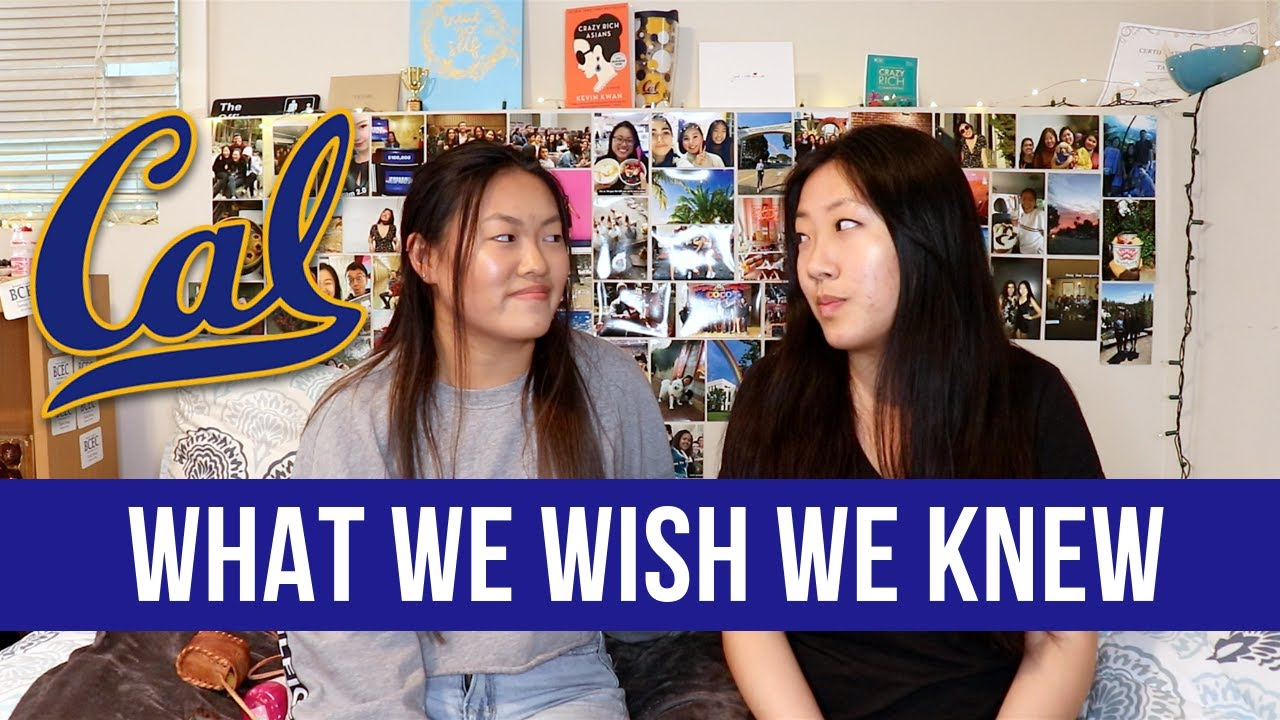 what we wish we knew about UC Berkeley as freshmen