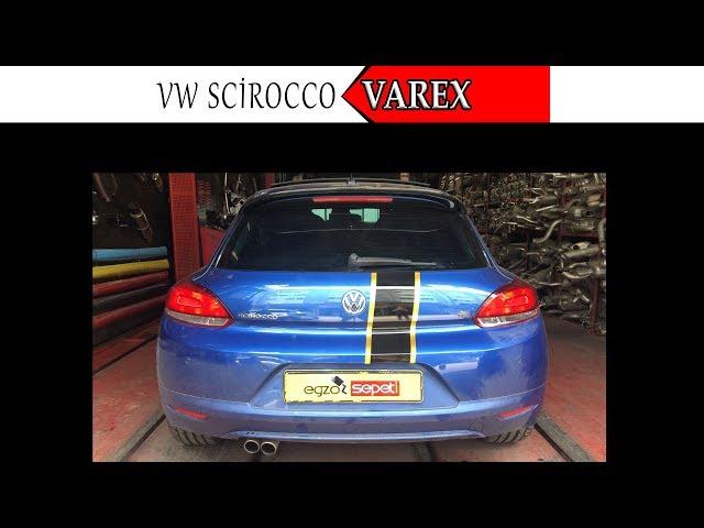 VW SCIROCCO 1.4 KUMANDALI VAREX EGZOZ SESİ