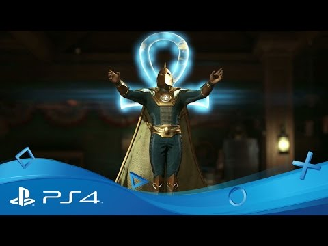 Injustice 2 | Doctor Fate Gameplay Reveal | PS4