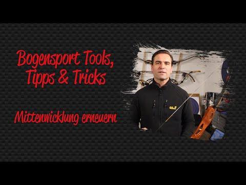 Bogensport Tools, Tipps & Tricks - Anleitung: Mittenwicklung erneuern