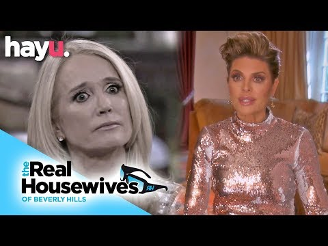 Lisa Rinna Ignores Kim Richards In Awkward Encounter | Season 9 | Real Housewives of Beverly Hills