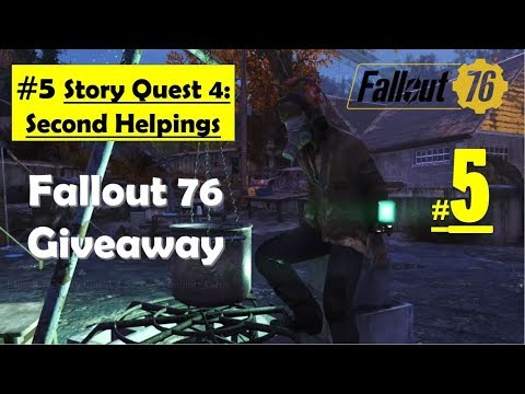 Fallout 76 - Second Helpings | Look for Delbert winters, Search training  instructions