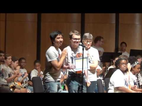 2016 University of Memphis Music Camp Band Performance