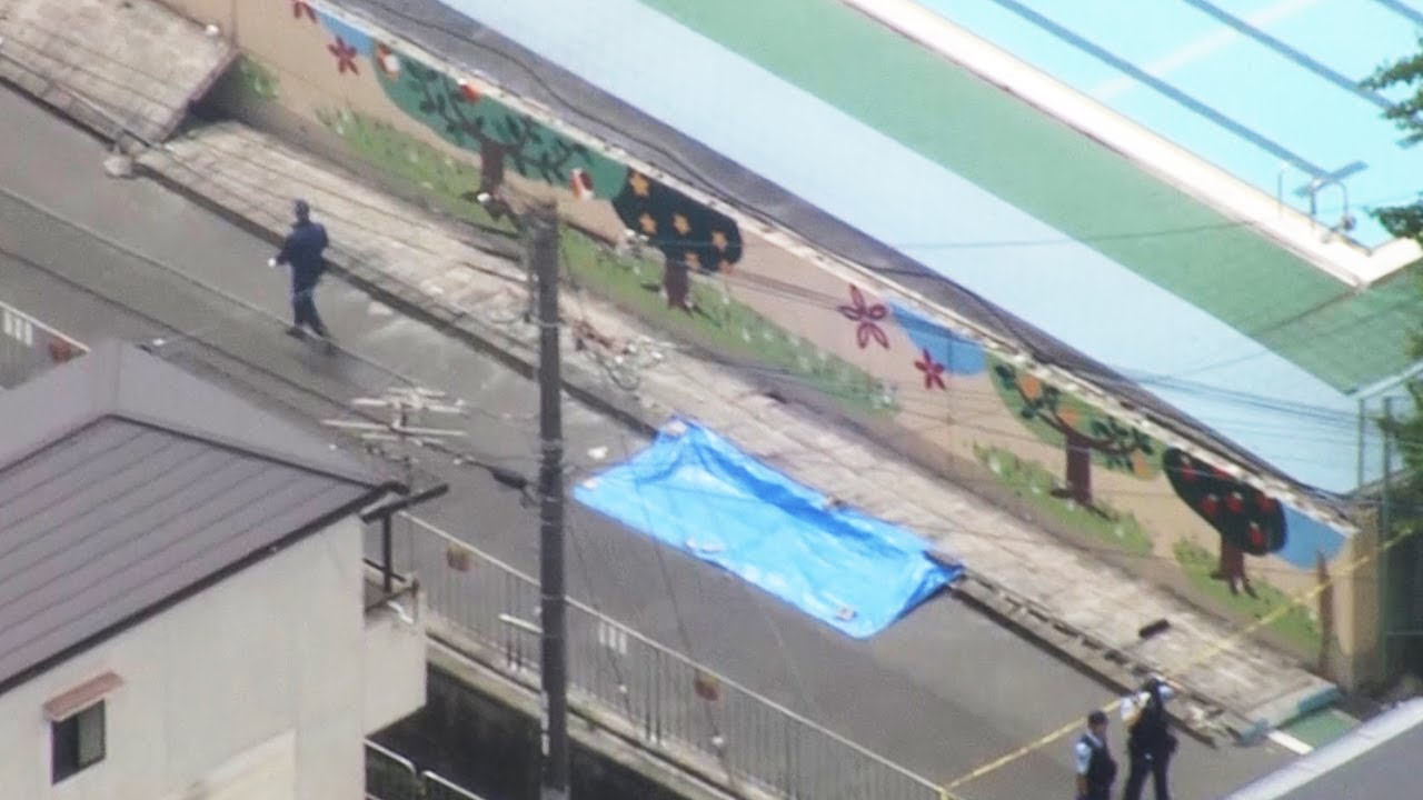 大阪北部地震でプールの壁が倒れ9歳女児が死亡 火災も発生