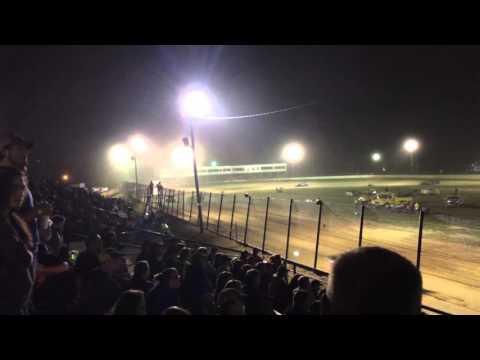 Brandon Hightower -  Jackson Motor Speedway Feature 4.23.16