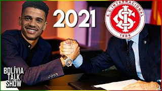 Taison assina pré-contrato virtual com o Inter! - BTS #222