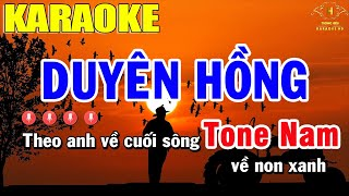 Download lagu Duyên Hồng Karaoke Tone Nam Nhạc Sống    Trọng Hiếu