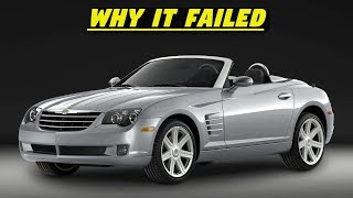 Chrysler Crossfire (+SRT6) - History, Major Flaws, & Why It Got Cancelled So Fast (2004-2008)