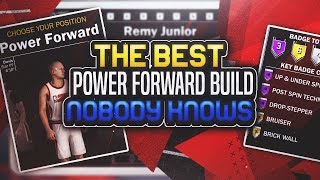 NBA 2K18 BEST POWER FORWARD PLAYER BUILD! • 99.99% OF PEOPLE DON'T KNOW ABOUT THIS OP ARCHETYPE 🔥