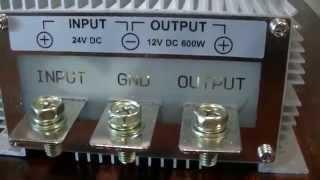 48v OFF GRID. 48v to 12v and 24v to 12v Step down Converters