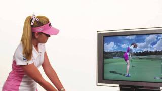 Tiger Woods PGA TOUR 11 -- Paula Creamer & PlayStation Move