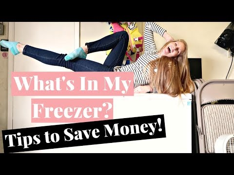 What's In My Freezer | Tips For Freezing Food To Save Money On Groceries Without Coupons!