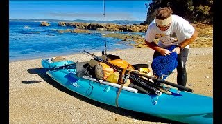 Overnight Ocean kayak Adventure