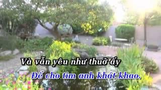 KaraokeHD Vẫn Yêu Như Thuở Ấy   Châu Khải Phong