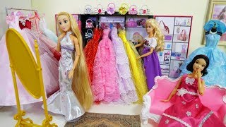 Принцеса Ляльки І Дизайнер Одягу Барбі Набір Іграшок 5 Суконь