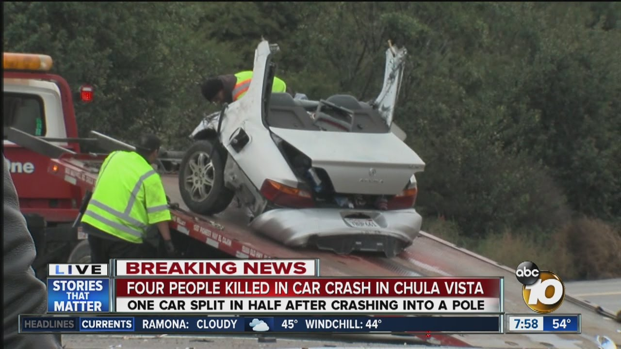 Car Wreck News Today
