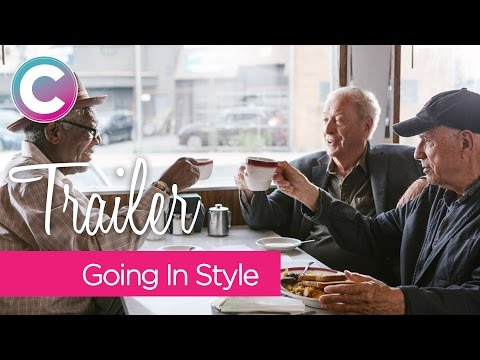 'Going In Style' 2017 Trailer Starring 'Morgan Freeman' 'Michael Caine' 'Alan Arkin'