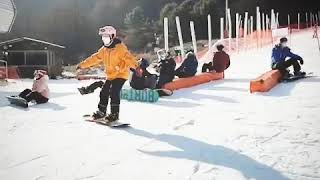 엘리시안강촌 에서 스노보드강습 강촌렌탈샵 잠빌입니다.