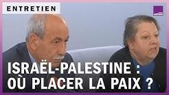 Conflit israélo-palestinien : où placer la paix sur la carte ?