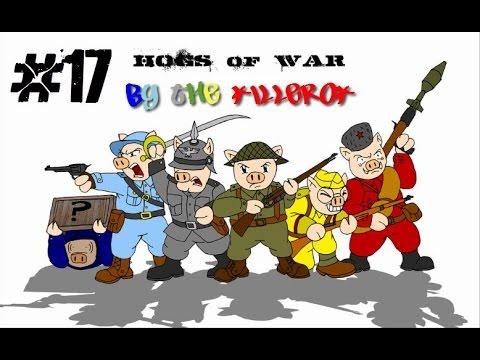 [Ps1] Прохождение Hogs Of War. Миссия 17: Смерть в кустах.