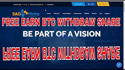 How Can Free Earning Bitcoin By Faucet Website || Traficclick.Com & Sagmining.Com Review