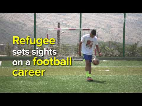 Refugee football: Syrian in Lebanon seeks beautiful life in the 'beautiful game'