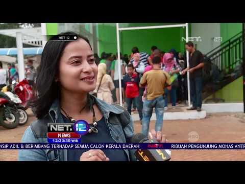 Warga Serbu Show Unit Hunian DP 0 Rupiah - NET 12