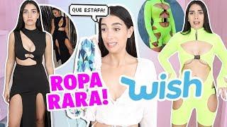 PROBANDO LA ROPA MÁS RARA DE WISH ¿VALE LA PENA ? TOO MUCH!  | Claudipia