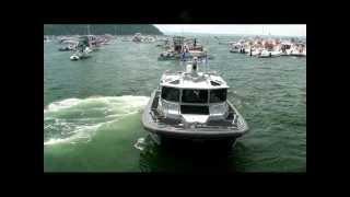 Police Boats - Boston Harbor - Peddocks Island