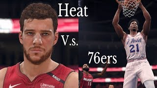 TNT Coverage - Game 5: Miami Heat Vs 76ers - Full Game Highlights - NBA Live 18