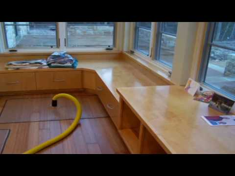 Drying Hardwood Floors  YouTube